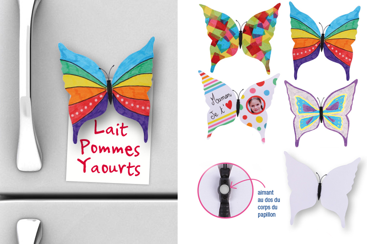 Magnets Papillons